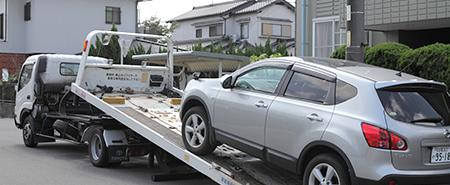 積載車でのお引き取りにも対応致します。